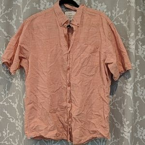 Men's XL Salmon colored shirt by Weatherproof